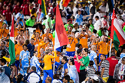 Flag of Netherlands at Closing Ceremony during Day 11 of the Rio 2016 Summer Paralympics Games on September 18, 2016 in Maracanã Stadium, Rio de Janeiro, Brazil. Photo by Vid Ponikvar / Sportida