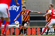 Bradford City midfielder Romain Vincelot (6) in action  during the EFL Sky Bet League 1 play off first leg match between Bradford City and Fleetwood Town at the Coral Windows Stadium, Bradford, England on 4 May 2017. Photo by Simon Davies.