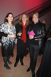 Left to right, ALEXANDRA SHULMAN, CAMILLA LOWTHER and NICKY HASLAM at the opening party for 'Face of Fashion' an exhibition of photographs by five of the World's leading fashion photographers held at the National Portrait Gallery, St.Martin's Lane, London on 12th February 2007.<br />