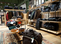 Picture shows Filson stand in The Lock. Interview with Filson CEO Alan Kirk by Matt Wilson.<br /> Bread and Butter Berlin, January 16-19th 2014.<br /> <br /> Credit should read: Picture by Mark Larner