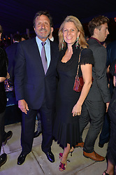 SIR & LADY ROCCO FORTE at an evenig of Jewellery & Photography to launch the Buccellati 'Opera Collection' held at Spencer House, London on 21st October 2015.