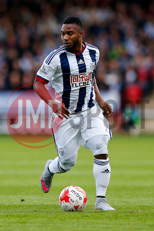 Stephane Sessegnon of West Brom in action - Mandatory byline: Rogan Thomson/JMP - 07966 386802 - 28/07/2015 - SPORT - Football - Walsall, England - Besot Stadium - Walsall v West Bromwich Albion - 2015/16 Pre Season Friendly.