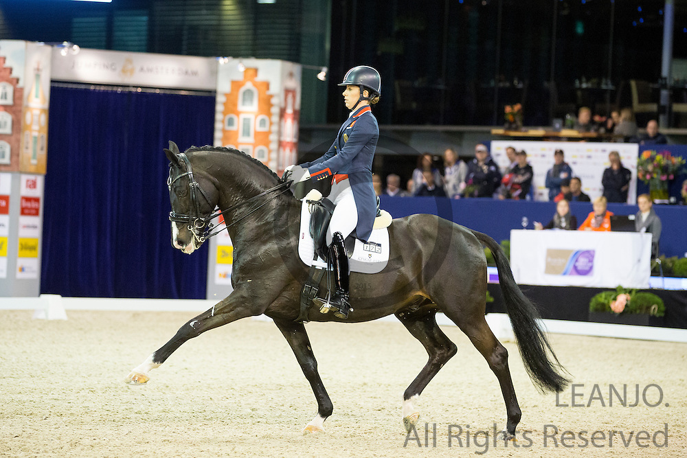 Charlotte Dujardin - Uthopia<br /> Jumping Amsterdam 2016<br /> &copy; DigiShots