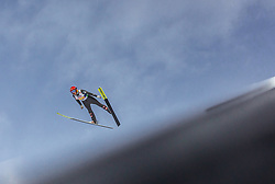02.03.2019, Seefeld, AUT, FIS Weltmeisterschaften Ski Nordisch, Seefeld 2019, Skisprung, Mixed Team Bewerb, im Bild Daniela Iraschko-Stolz (AUT) // Daniela Iraschko-Stolz of Austria during the mixed team competition in ski jumping of nordic combination of FIS Nordic Ski World Championships 2019. Seefeld, Austria on 2019/03/02. EXPA Pictures © 2019, PhotoCredit: EXPA/ Stefanie Oberhauser