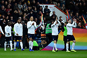 Liverpool players walk out on to the field ahead of the kick off during the Premier League match between Bournemouth and Liverpool at the Vitality Stadium, Bournemouth, England on 7 December 2019.