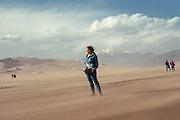Me at Great Sand Dunes National Monument, 1990.