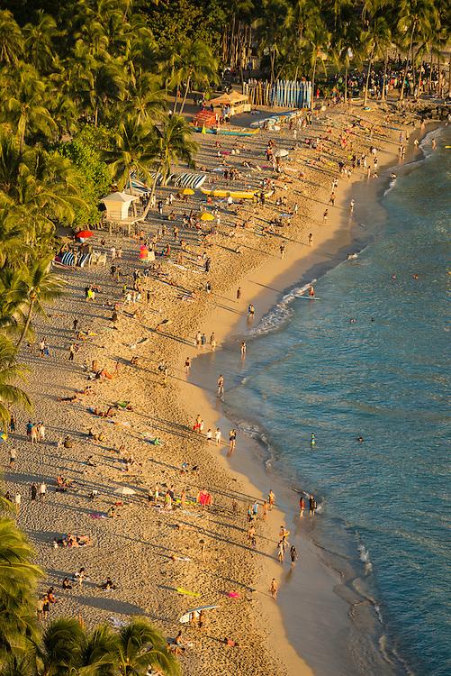 USA, Hawaii, Oahu, Honolulu, Waikiki