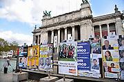 Belgie, Antwerpen, 7-10-2012Vaste verkiezingsborden voor de komende Belgische gemeenteraadsverkiezingen,districtsverkiezingen en provincieraadsverkiezingen.Foto: Flip Franssen/Hollandse Hoogte