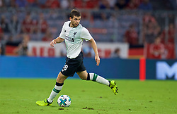 MUNICH, GERMANY - Tuesday, August 1, 2017: Liverpool's Jon Flanagan during the Audi Cup 2017 match between FC Bayern Munich and Liverpool FC at the Allianz Arena. (Pic by David Rawcliffe/Propaganda)