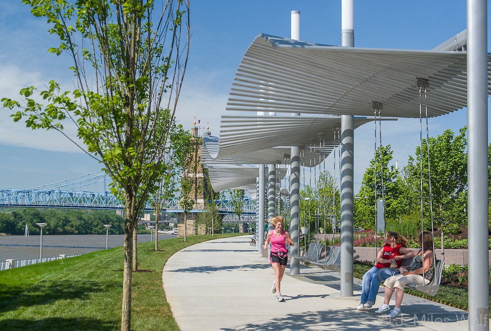 Smale Riverfront Park Cincinnati Ohio