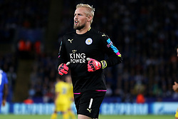 Kasper Schmeichel of Leicester City  - Mandatory by-line: Matt McNulty/JMP - 27/09/2016 - FOOTBALL - King Power Stadium - Leicester, England - Leicester City v FC Porto - UEFA Champions League