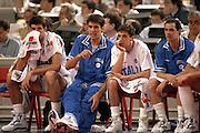 Europei Roma 1991<br /> Finale Italia vs Jugoslavia<br /> Panchina Italia<br /> Foto: Fabio Ramani