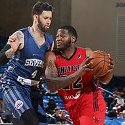 NBA D-LEAGUE BASKETBALL 2017 - MAR 25 - Windy City Bulls defeated Delaware 87ers 110-99