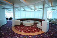 Celebrity Silhouette. Celebrity cruises' new ship launched in Hamburg 21st July 2011..Interior feature photos..Sky Observation Lounge..