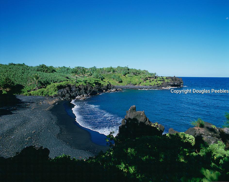 Waianapanapa, Hana Coast, Hana, Maui, Hawaii, USA<br />