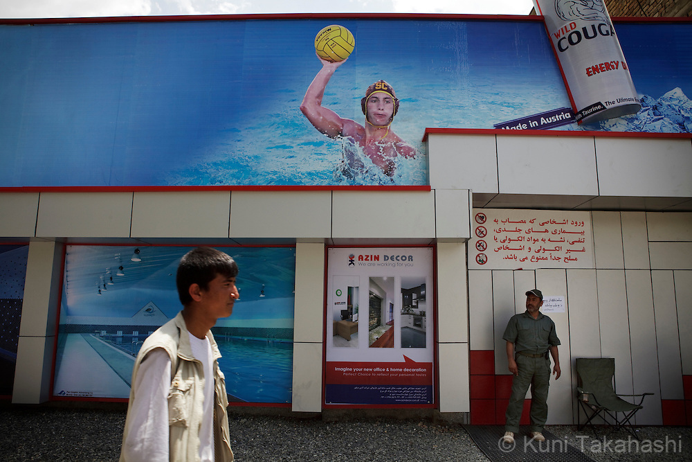 (Kabul, Afghanistan - May 16, 2012).Exterior of the brand-new indoor swimming pool in Kabul, Afghanistan on May 16, 2012. The largest indoor swimming facility in the country has Jacuzzi, steam bath and a cafeteria as well as swimming training programs. .(Photo by Kuni Takahashi)