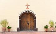 Mission Santa Ines Front Door