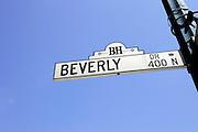 US-LOS ANGELES:  Beverly Drive Beverly Hills .PHOTO: GERRIT DE HEUS