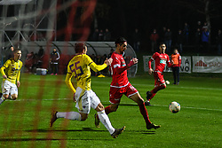 Ilija Martinović of Aluminij during football match between NK Aluminij and NK Maribor in 18th Round of Prva liga Telekom Slovenije 2019/20, on November 24, 2019 in Sportni park Aluminij, Kidricevo Slovenia. Photo by Milos Vujinovic / Sportida