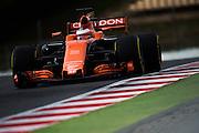 February 26, 2017: Circuit de Catalunya. Stoffel Vandoorne (BEL), McLaren Honda, MCL32