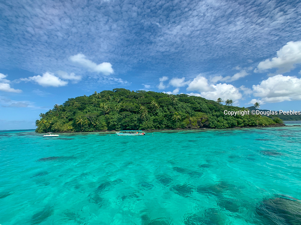 Motu Vaiorea, Huahine, Society Islands, French Polynesia; South Pacific