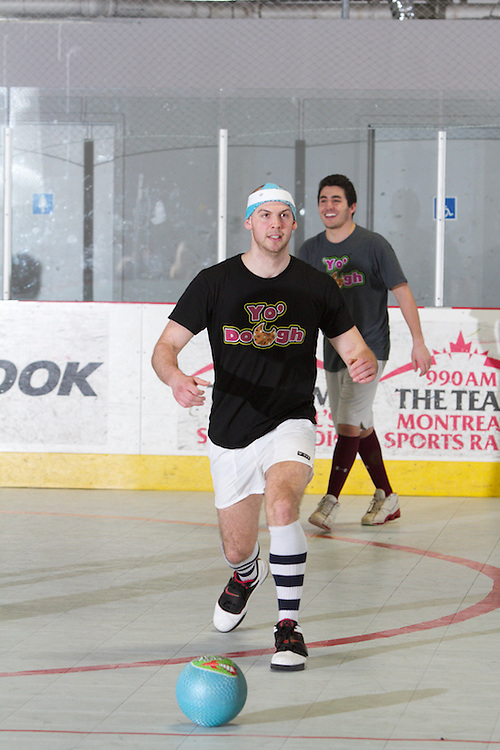 A co-ed dodgeball tournament held at Le Rinque in Montreal and hosted by the Combined Jewish Appeal.