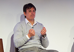 NEWPORT, WALES - Saturday, May 30, 2015: Wales' manager Chris Coleman during the Football Association of Wales' National Coaches Conference 2015 at the Celtic Manor Resort. (Pic by David Rawcliffe/Propaganda)