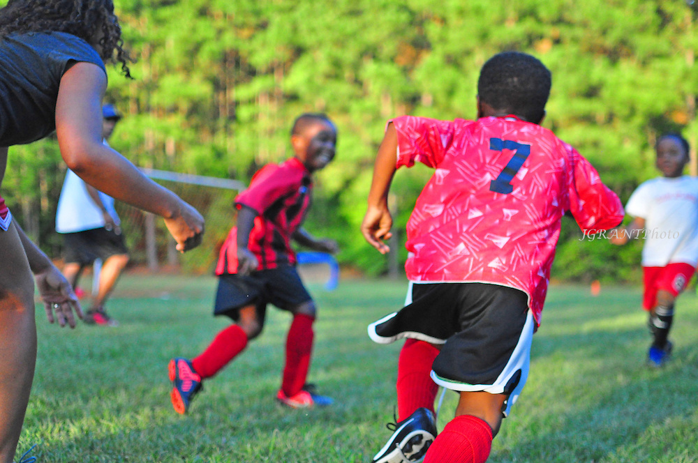 Tiger Soccer Club Practice Photos.<br />