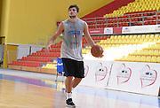 DESCRIZIONE : Skopje torneo internazionale - Allenamento<br /> GIOCATORE : Alessandro Gentile<br /> CATEGORIA : nazionale maschile senior A <br /> GARA : Skopje torneo internazionale - Allenamento <br /> DATA : 24/07/2014 <br /> AUTORE : Agenzia Ciamillo-Castoria