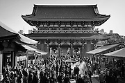 Visiting the Sensōji Temple on Tuesday Feb. 7, 2017 in Asakusa, Japan.<br /> Photo by Kevin Clifford