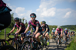 Hannah Barnes at Boels Rental Ladies Tour Stage 6 a 159.7 km road race staring and finishing in Sittard, Netherlands on September 3, 2017. (Photo by Sean Robinson/Velofocus)