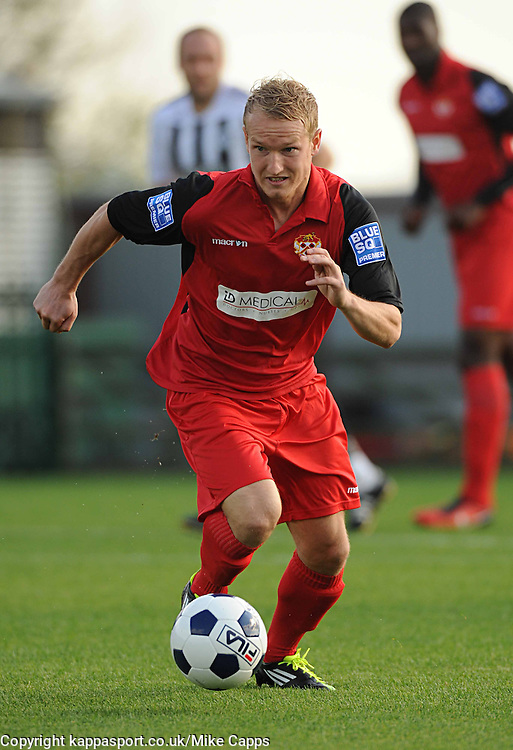 MARCUS KELLY, KETTERING TOWN, Forest Green Rovers v Kettering Town, Blue Square Premier, Saturday 15th October 2011