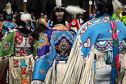 Browning, MT:  Performers at Indian PowWow.