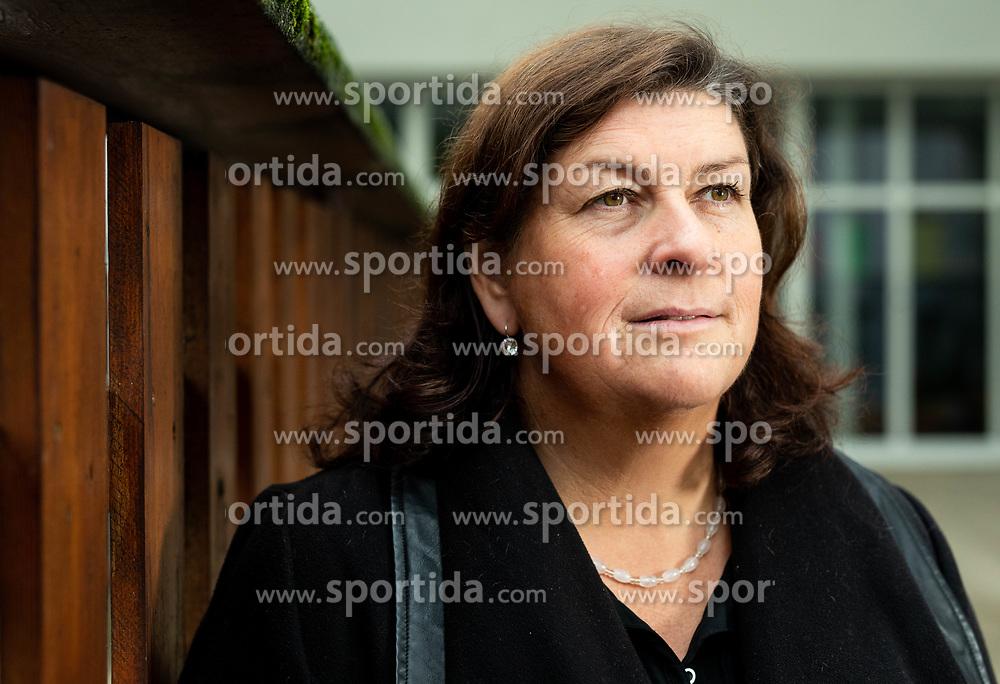 Portrait of Natasa Erjavec, former Slovenian Shot Put athlete, on November 6, 2019, in Ljubljana, Slovenia. Photo by Vid Ponikvar / Sportida