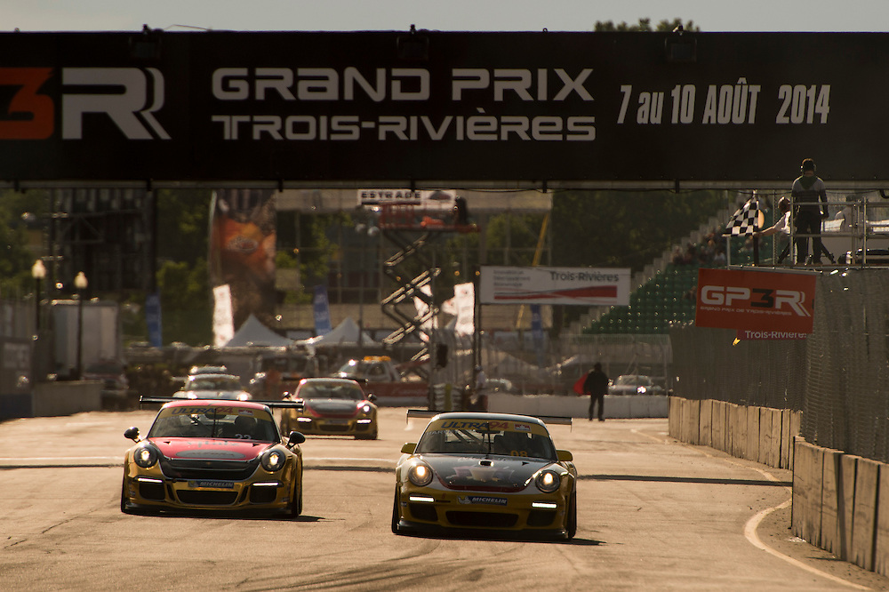 7-10 August, 2014, Trois-Rivieres, Quebec Canada<br /> 22, Carlos De Quesada, Platinum, M, 2014 Porsche, 08, Martin Harvey, Gold, M, 2012 Porsche<br /> &copy;2014, Scott R LePage <br /> LAT Photo USA