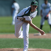 Saratoga vs Palo Alto in a SCVAL Baseball Game at Palo Alto High School, Palo Alto CA on 4/20/16. (Photograph by Bill Gerth (williamgerth.com))