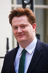 London, March 18th 2015. Members of the Cabinet gather at Downing street for their weekly meeting. PICTURED: Chief Secretary to the Treasury Danny Alexander.