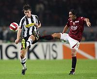 """Torino 29/9/2007 Stadio """"Olimpico""""<br /> Campionato Italiano Serie A<br /> Matchday 6 - Torino-Juventus (0-1)<br /> Zdenek Grygera (Juventus) Simone Barone (Torino)<br /> Photo Luca Pagliaricci INSIDE"""
