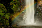 Detail of Ogi Waterfall and rainbow, near Bajawa, Flores