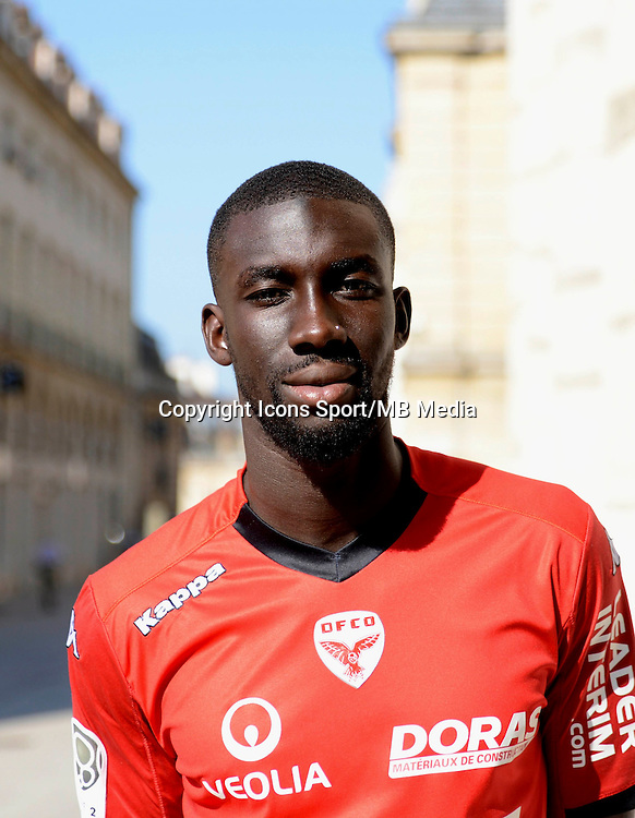 Ousseynou Cisse - 08.09.2014 - Portrait officiel Dijon<br /> Photo : Vincent Poyer / Icon Sport