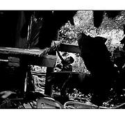 """Autor de la Obra: Aaron Sosa<br /> Título: """"Serie: Apuntes de mi vida: La Pastora""""<br /> Lugar: La Pastora, Caracas - Venezuela <br /> Año de Creación: 2009<br /> Técnica: Captura digital en RAW impresa en papel 100% algodón Ilford Galeríe Prestige Silk 310gsm<br /> Medidas de la fotografía: 33,3 x 22,3 cms<br /> Medidas del soporte: 45 x 35 cms<br /> Observaciones: Cada obra esta debidamente firmada e identificada con """"grafito – material libre de acidez"""" en la parte posterior. Tanto en la fotografía como en el soporte. La fotografía se fijó al cartón con esquineros libres de ácido para así evitar usar algún pegamento contaminante.<br /> <br /> Precio: Consultar<br /> Envios a nivel nacional  e internacional."""