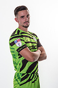 Forest Green Rovers Liam Shephard(2) during the official team photocall for Forest Green Rovers at the New Lawn, Forest Green, United Kingdom on 29 July 2019.