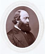 Robert Arthur Talbot Gascoyne CecilL, 3rd Marquis of Salisbury (1830-1903) British Conservative statesman. Prime Minister 1885, 1886, 1895-1902. Photograph published c1880. Woodburytype.