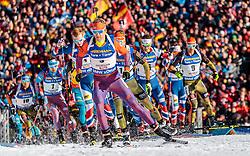 19.02.2017, Biathlonarena, Hochfilzen, AUT, IBU Weltmeisterschaften Biathlon, Hochfilzen 2017, Massenstart Herren, im Bild Lowell Bailey (USA) // Lowell Bailey of the USA during Mens Masstart of the IBU Biathlon World Championships at the Biathlonarena in Hochfilzen, Austria on 2017/02/19. EXPA Pictures © 2017, PhotoCredit: EXPA/ JFK