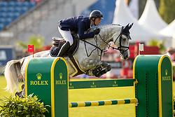 Balsinger Bryan, SUI, AK's Courage<br /> CHIO Aachen 2019<br /> Weltfest des Pferdesports<br /> © Hippo Foto - Stefan Lafrentz<br /> Balsinger Bryan, SUI, AK's Courage