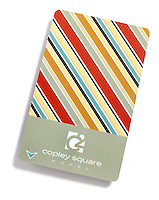 Copley Square hotel keycard on white background