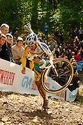 GVA Trofee cyclocross in the Citadelle at Namur, Belgium. October 2009