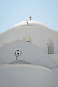 The Greek Orthodox Church in Plaka, on Milos Island, Greece.