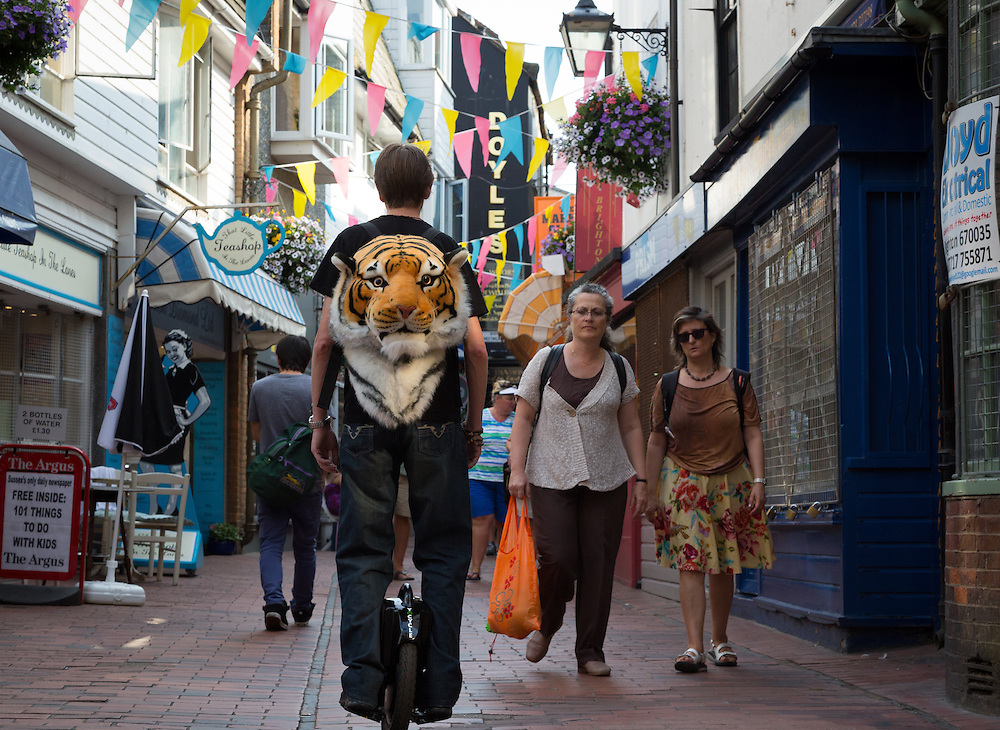You may have noticed an additional form of transport around town lately. Paul Ellis (pictured), MD of Sussex-based Yo Cycle claims his device to be the smallest, greenest and most convenient &quot;People Mover&quot; ever invented. &quot;It's great for covering large distances without effort, and folds into a shape no larger than a briefcase&quot;.<br />