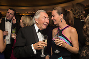 SIR ROBERT OGDEN; LADY OGDEN, Cartier 25th Racing Awards, the Dorchester. Park Lane, London. 10 November 2015
